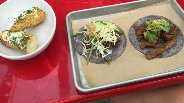 Lunch at Galaxy Taco