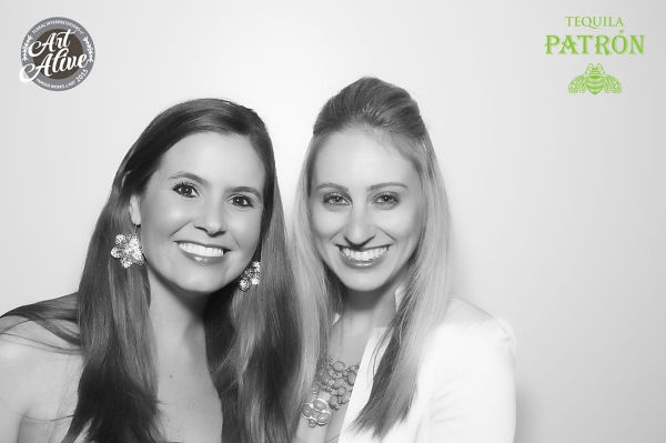 Testing out the photo booth at Panama 66 during Bloom Bash