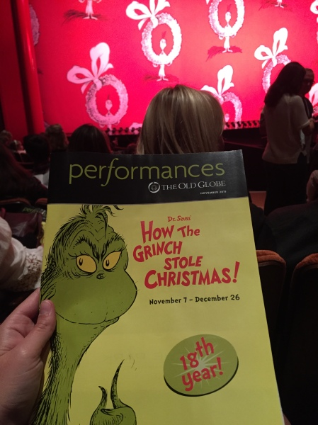 The 18th year of the Grinch at The Old Globe