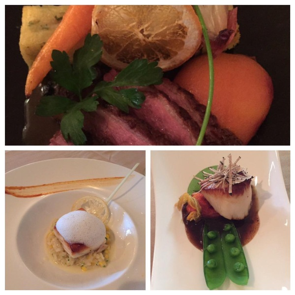 Chef's tasting menu at Bellamy's