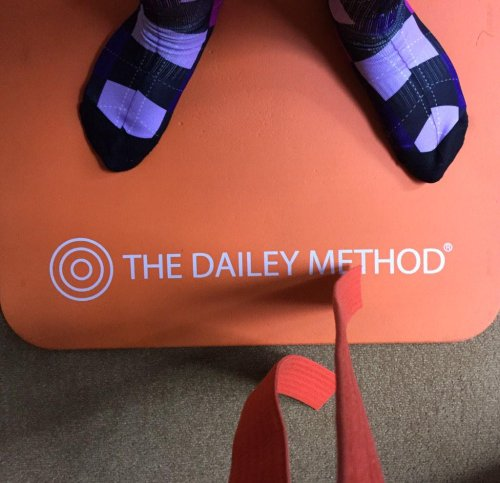 Barre class at The Dailey Method