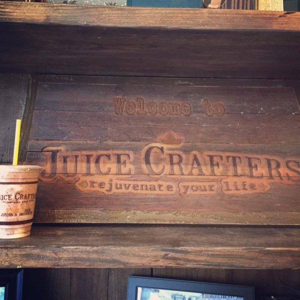 Chunky Monkey smoothie at Juice Crafters