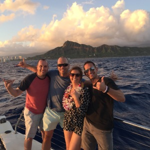 Mai Tai Sunset Catamaran Cruise