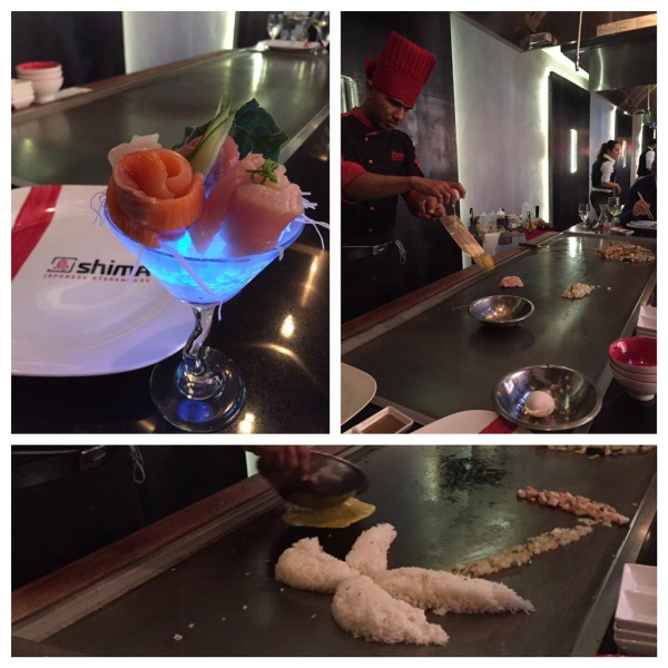 Dinner & a show at Shima Japanese Steakhouse