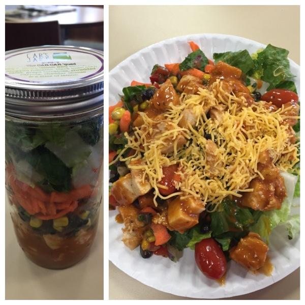 The Car-Car 'Qued salad from Car's Jars