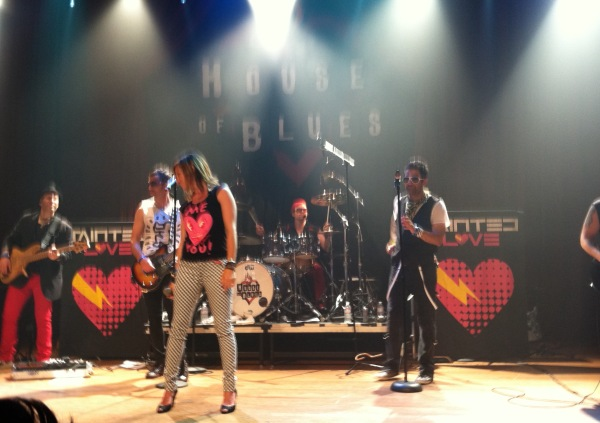 80s cover band Tainted Love at House of Blues San Diego