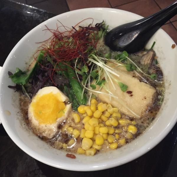 Vegan Ramen at Tajima
