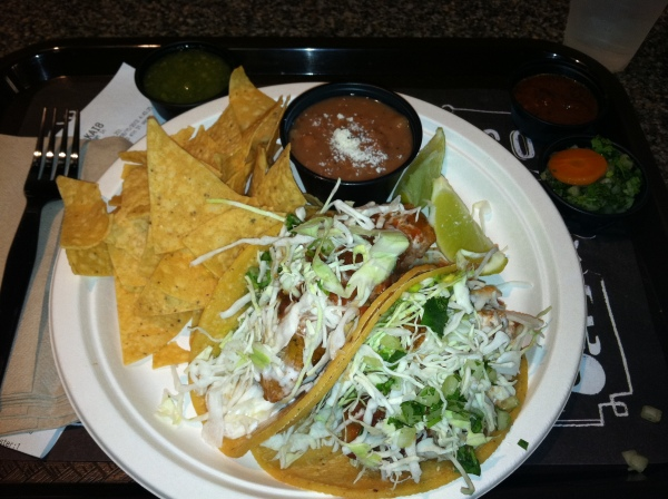 Original Fish Tacos from Rubio's