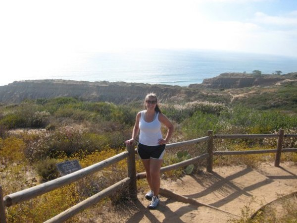 Hiking at Torrey Pines State Natural Reserve