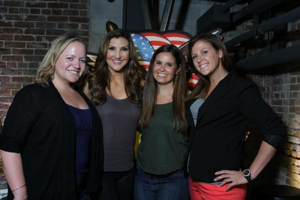 Comedienne Heather McDonald performs at The American Comedy Co.