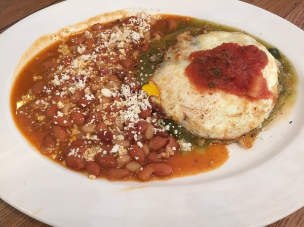 Huevos Rancheros at Hope 46