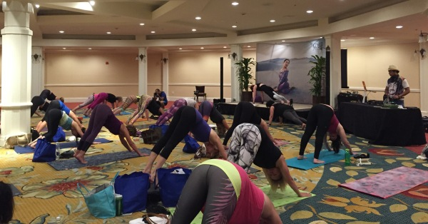 Yoga Journal LIVE! San Diego class