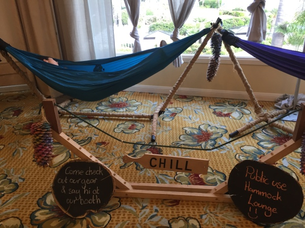 Hammock lounge in The Yoga Market