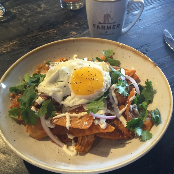 Chilaquiles at Farmer & The Seahorse