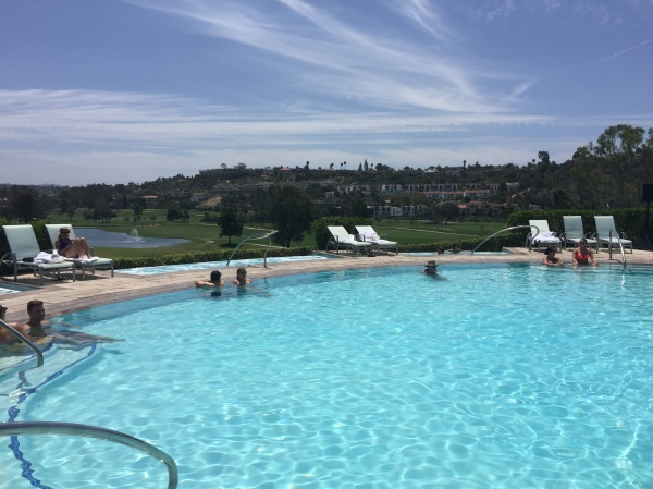 Edge pool at Omni La Costa