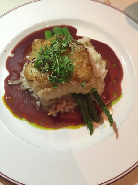 Chilean seabass at Osetra