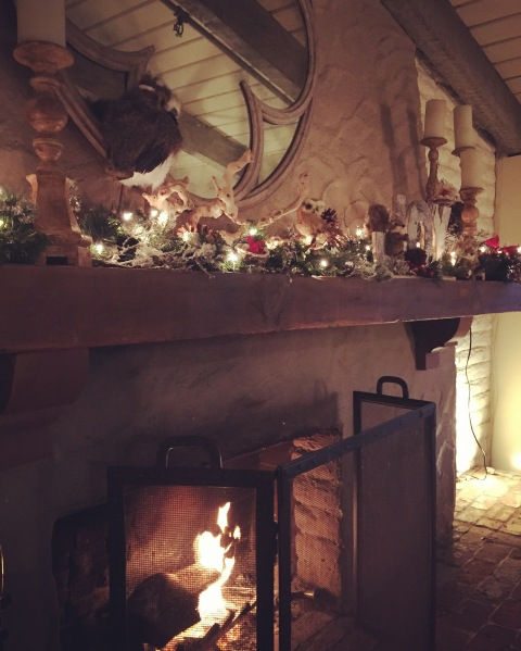 Fireplace at Rancho Bernardo Inn