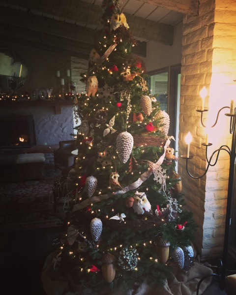 Christmas tree at Rancho Bernardo Inn