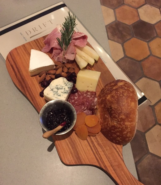 Cali meat & cheese board